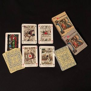 Jeu Roman - Air France Romanesque Playing Cards